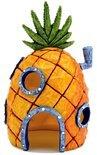 Ornament Spongebob Ananashuis - 15x9x8 cm - Oranje