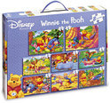 King Puzzel Winnie De Poeh 8 In 1