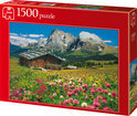Jumbo Puzzel - Oostenrijk - Zuid Tirol - Seiser Alm