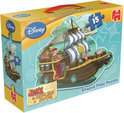 Disney Jake & The Neverland Pirates Vloerpuzzel
