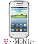 Samsung Galaxy Young - Wit - T-Mobile prepaid telefoon