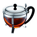 Bodum Chambord - Theepot met filter - RVS deksel - 12 kops - 1.5 l