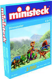 Ministeck 4-in-1 Puzzel - Dinosaurier