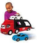 Grote Autotransporter Rood/Zwart