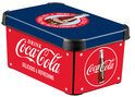Curver Decobox Stockholm Opbergbox - S - Kunststof - Coca Cola