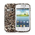 Celly Samsung Galaxy Fame Gelskin Case Brown Animal