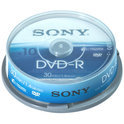 Sony 10DMR30ASP Dvd -R 8cm 30 Mn X10 Spindle Case