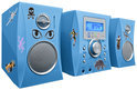 Micro Radio/CD Speler - Blauw