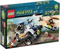 LEGO Agents 4-WD Achtervolging - 8969