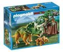 Playmobil Triceratops met Jong - 5234