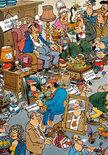 Jan van Haasteren: De Rommelmarkt