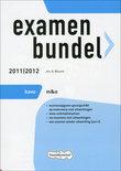 Examenbundel 2011/2012  / Havo M&O