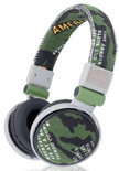 Qware, Camouflage Headphone (Green)