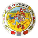 Blond Amsterdam I Love Holland - Bord  26 cm - Stro
