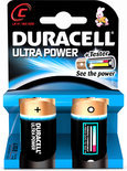 Duracell Ultra Power - 2xC