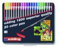edding 1200 color pebn metal box 20 stuks