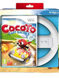 Cocoto, Kart Racer + Wheel (Bundel)  Wii