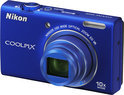 Nikon Coolpix S6200 - Blauw