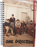 One Direction A4 Spiraal Notebook