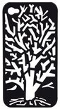 Lianzoo VisualCase Embossed voor Apple iPhone 4/4S Tree Black
