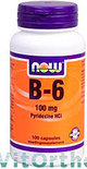 VitOrtho Now B-6 100 mg Capsules 100 st
