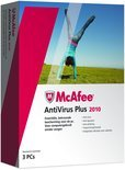 McAfee Antivirus Plus 2010, 3 User Nl