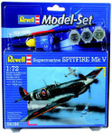 Revell Vliegtuig Supermarine Spitfire Modelset - Bouwpakket - 1:72
