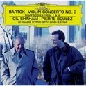 Bartok: Violin Concerto no 2, etc / Shaham, Boulez, Chicago