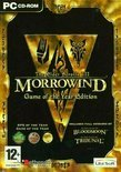 The Elder Scrolls 3, Morrowind, Game Of The Year (Morrowind + Bloodmoon En Tribunal Add-Ons ) (Dvd-Rom)