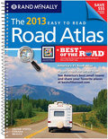 The 2013 Easy-to-Read Midsize Road Atlas