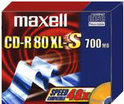 Maxell CD-R 80min/700Mb 10 stuks in slimcase