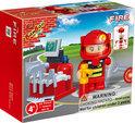 BanBao Brandweer Brandweerman - 8318