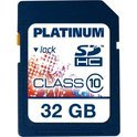 Platinum Secure Digital Card SDHC  (Retail, Class 10, 32GB)