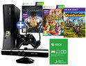 Xbox 360 Slim 250GB + Kinect Sensor + 1 Controller + 3 Kinect Games + 1 Maand Xbox Live Gold