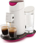 Philips Senseo Twist HD7870/20 Koffiepadmachine - Fuchsia en Wit