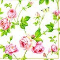IHR Rambling Rose Servetten - 16.5 x 16.5 cm