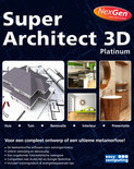 Easy Computing Super Architect 3d Platinum Nexgen - DVD-Rom / Nederlands
