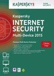 Kaspersky Internet Security 2015 Multi Device - Nederlands / Frans / 1 Gebruiker / 1 Apparaat / DVD