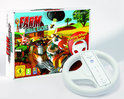 Farm Animal Racing + Racing Wheel