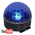 Beamz Magic Jelly DJ Ball DMX Multikleuren LED