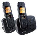 Motorola D1012 - Duo DECT telefoon met antwoordapparaat - Zwart