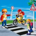 Playmobil Verkeersbegeleider met Kinderen - 4328