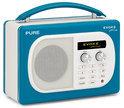 Pure Evoke Mio - Digitale FM-radio - Blauw