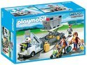 Playmobil Vliegtuigtrap met Passagiers - 5262
