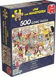 Jan van Haasteren Zeebanket - Puzzel - 500 stukjes