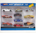Hot Wheels 10 Car Giftpack