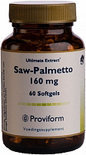 Proviform Saw Palmetto 160mg Ult Ext