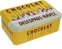 KOM Amsterdam French Classics blikje - 18x12xH7 cm - Chocolat
