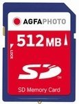 AgfaPhoto SD Kaart         512MB