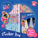 Littlest Pet Shop Stickerbox - 500 Stickers en Album